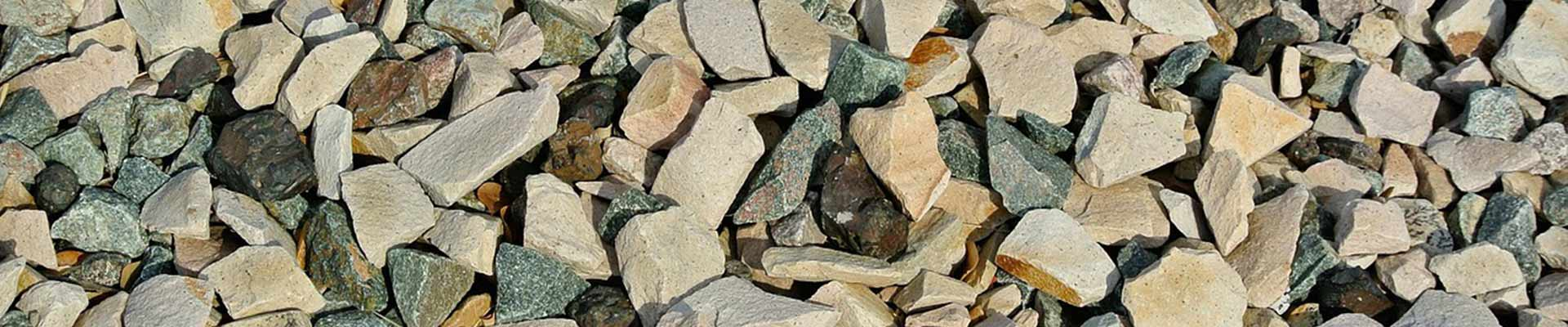Aggregate - Crushed Rock - Pea Gravel - River Rock - Crusher Dust - Keon Landscaping Supplies - Moose Jaw