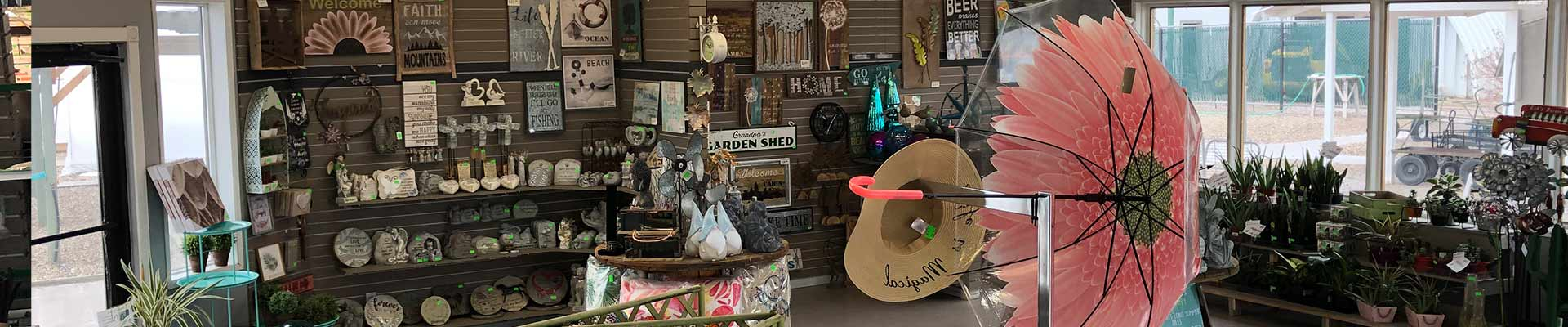Decor Gifts - Keon Garden Centre - Moose Jaw