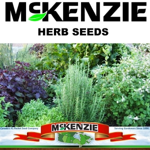 McKenzie Herb Seeds - Keon Garden Centre - Moose Jaw