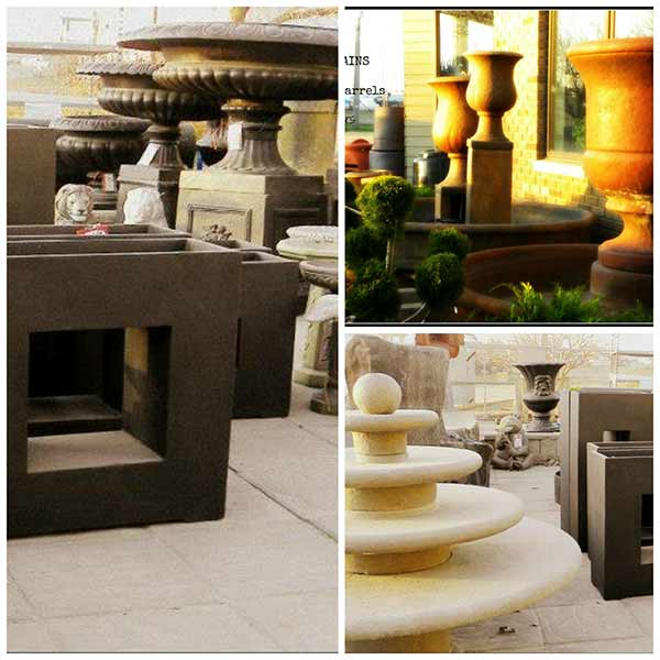 Statues - Fountains - Pottery - Landscaping Supplies - Moose Jaw